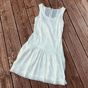 Candies White Lace Dress